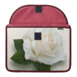 White Rose 'Pascali' Sleeve For MacBook Pro