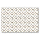 White Rose Pattern Tissue Paper