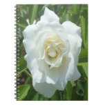 White Rose Photo Notebook Note Books
