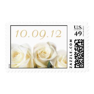White Rose Print Stamp