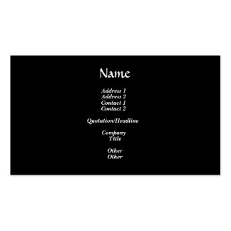 White rose Rosary Double-Sided Standard Business Cards (Pack Of 100)