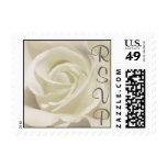 White Rose RSVP Stamp