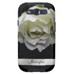 White Rose Samsung Galaxy S3 Phone Case Galaxy SIII Cover
