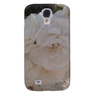 White Rose Samsung S4 Case