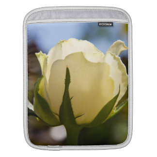 White Rose Sleeves For iPads