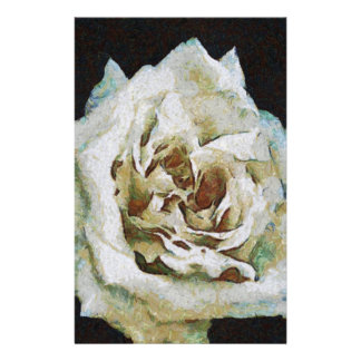 White Rose Stationery
