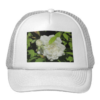 White Rose Trucker Hat