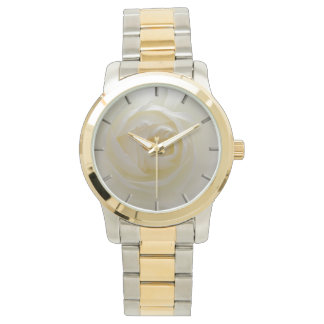 White Rose Watch Romantic Rose Wrist Watches
