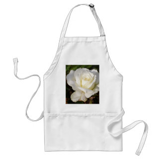 White Rose Wedding January Bridal Party Gifts Adult Apron