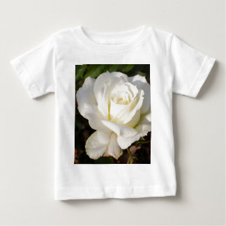 White Rose Wedding January Bridal Party Gifts Baby T-Shirt