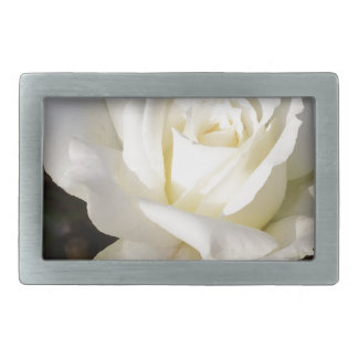 White Rose Wedding January Bridal Party Gifts Belt Buckle
