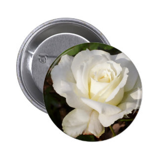 White Rose Wedding January Bridal Party Gifts Buttons