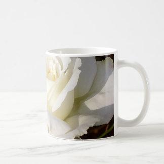 White Rose Wedding January Bridal Party Gifts Coffee Mug