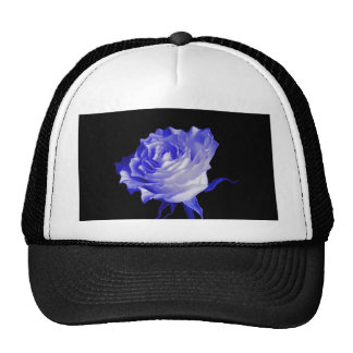 White Rose with Purplish Tints by Sharles Hats