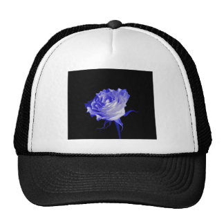 White Rose with Purplish Tints by Sharles Trucker Hat
