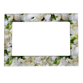 White Roses#8_ Magnetic Photo Frame