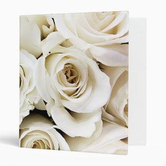 White Roses Binder
