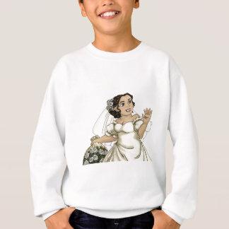 White Roses Bride Sweatshirt