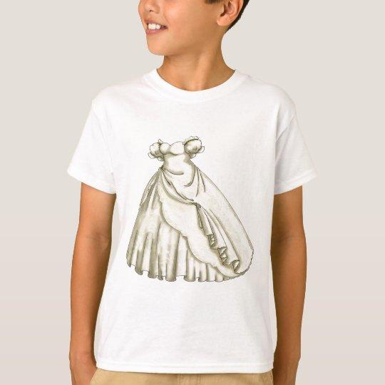 White Roses Bride T-Shirt