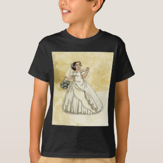 White Roses Bride T-Shirt