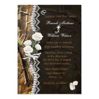 White Roses & Camo Card