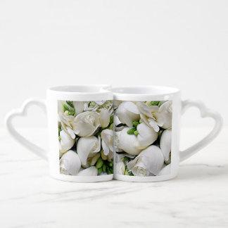 White Roses_ Coffee Mug Set