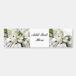 White Roses,for any occasion_ Bumper Sticker