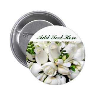 White Roses,for any occasion_ Buttons
