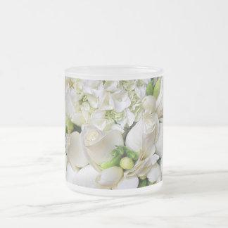 White Roses,Happy_ Coffee Mug