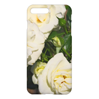 White Roses in Bloom - Flower photography iPhone 8 Plus/7 Plus Case