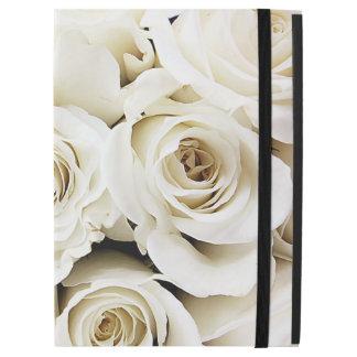 White Roses iPad Pro Case