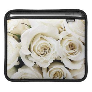 White Roses iPad Sleeve