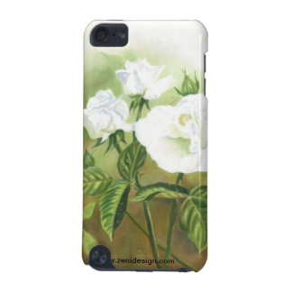 """WHITE ROSES"" iPod Case"