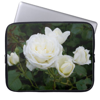 White Roses Laptop Sleeve
