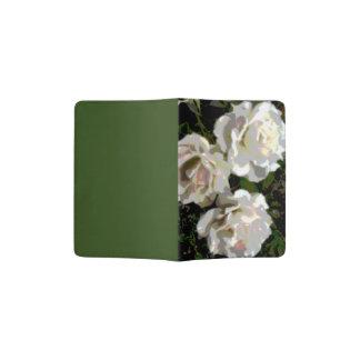 White Roses Photograph Passport Holder