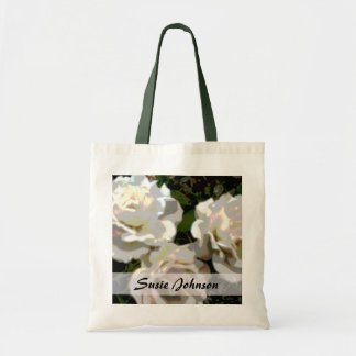 White Roses photograph Tote Bag