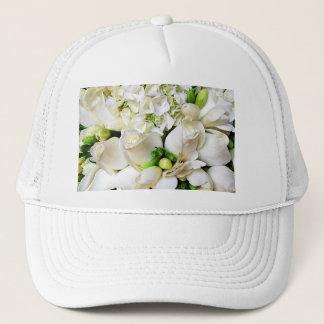 White Roses,Roses of Love_ Trucker Hat