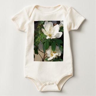 """White Roses Smiling in the Sun""  CricketDiane Art Baby Bodysuit"