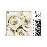 White Roses Stamps at Zazzle