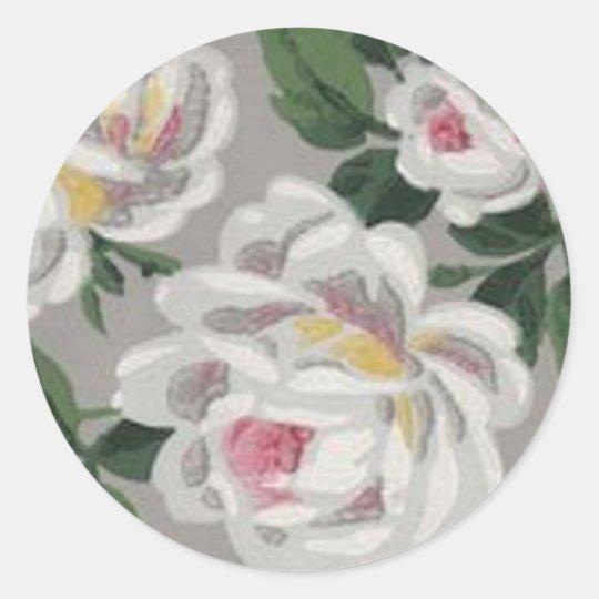 White Roses - Sticker