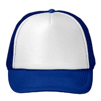 White Royal Blue Cap Truckers Hat
