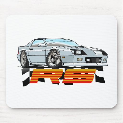 WHITE_RS_3G MOUSE PAD