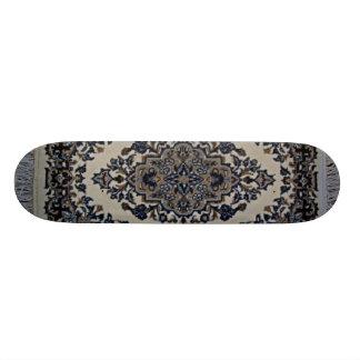 white rug skateboard deck