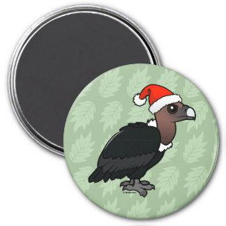 White-rumped Vulture Santa Magnet
