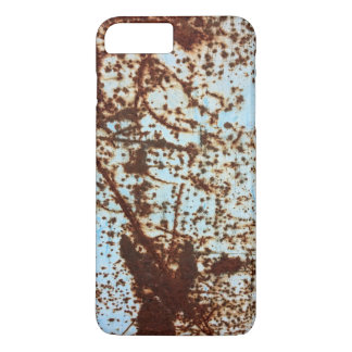 White Rusted Metal Corrosion Pattern iPhone 8 Plus/7 Plus Case
