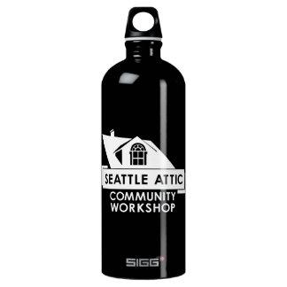 White SACW Logo, SIGG Traveler 1.0L Water Bottle