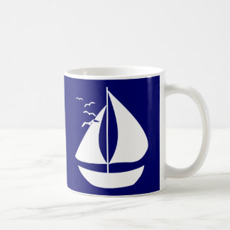 White Sails Classic White Coffee Mug