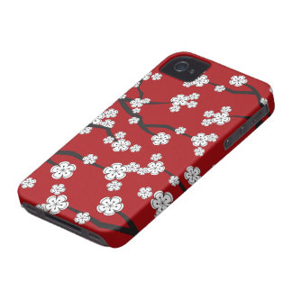 White Sakuras Cherry Blossoms iPhone CaseMate iPhone 4 Case-Mate Case