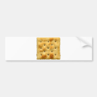White Saltine Soda Crackers Bumper Sticker