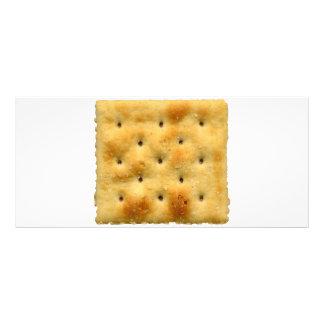 White Saltine Soda Crackers Rack Card
